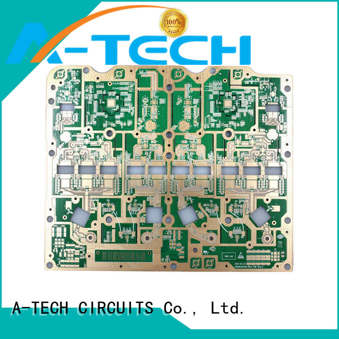 A-TECH counter sink edge plating pcb hot-sale for wholesale
