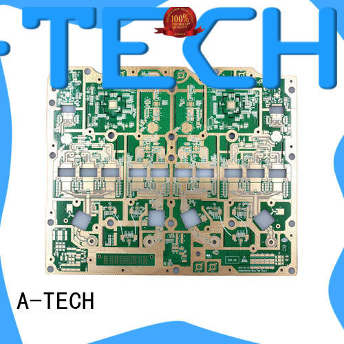 A-TECH routing thick copper pcb best price for sale