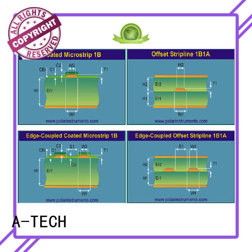 counter sink blind vias pcb hot-sale at discount A-TECH
