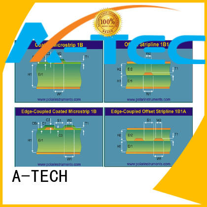 A-TECH half depth edge plating pcb durable top supplier