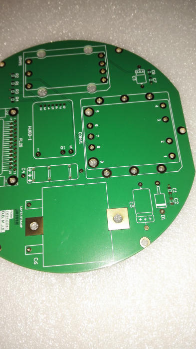2 layers PCB with flying probe test
