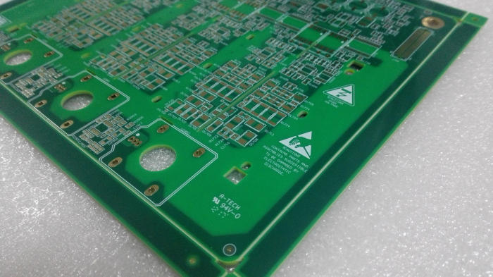 4 layers PCB with impedance control